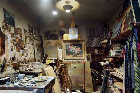 Building, Interior design, Antique, Room, Collection, Furniture, City, Art,
