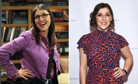 Mayim Bialik, Big Bang Theory, then and now