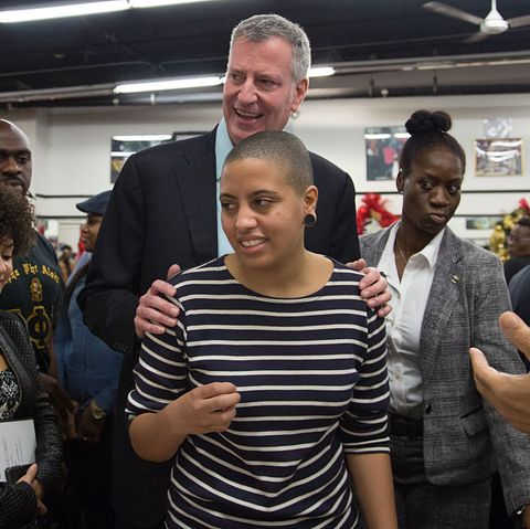 nyc mayor bill de blasio attended the national action