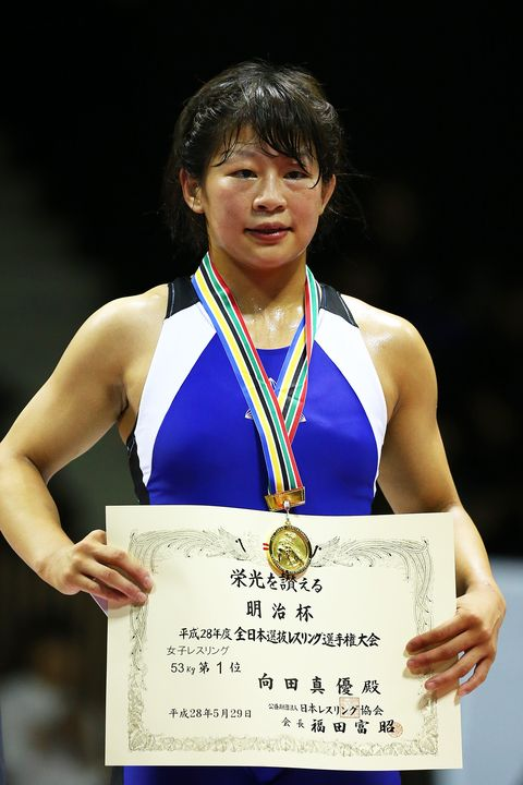 All Japan Wrestling Championships - Day 3 向田真優