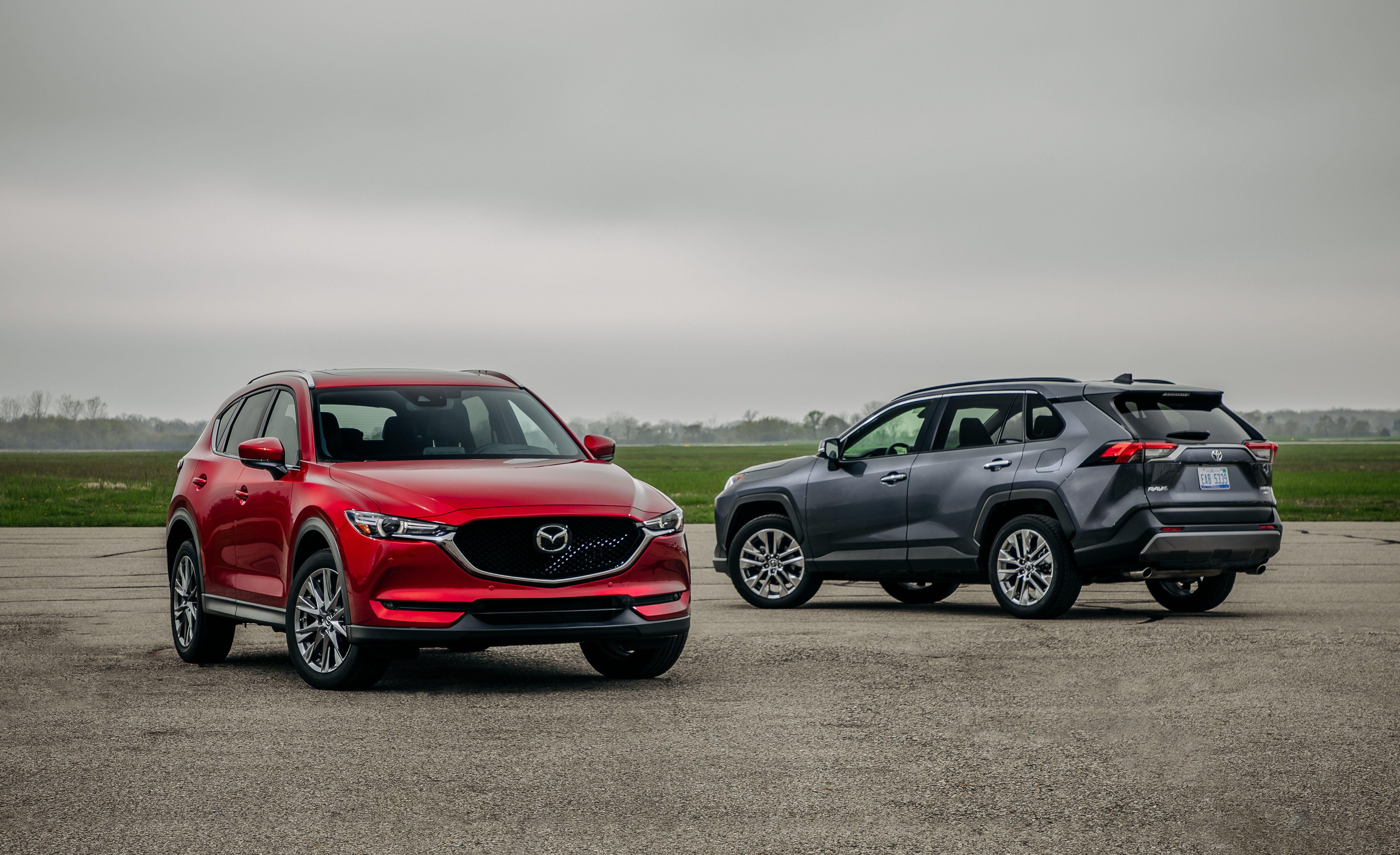 Rav4 Gas Mileage >> 2019 Mazda Cx 5 Vs 2019 Toyota Rav4 Which Is The Better