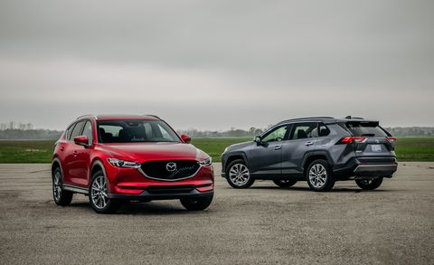 2019 Mazda CX-5 vs. 2019 Toyota RAV4: Which Best Seller Is the Better Compact SUV?