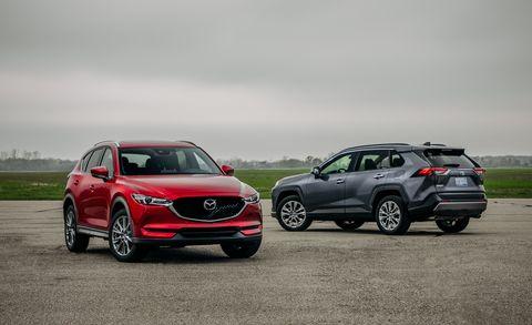 2019 Mazda CX-5 vs  2019 Toyota RAV4 – Which Is the Better