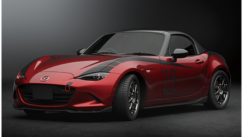 Mazda Mx 5 Miata Drop Head Coupe Concept Carbon Fiber Roof