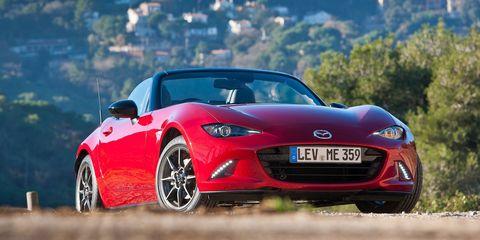 Land vehicle, Vehicle, Car, Performance car, Mazda mx-5, Automotive design, Sports car, Mazda, Automotive wheel system, Personal luxury car,