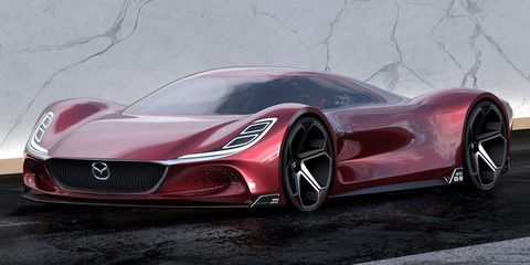 Mazda RX-10 Vision Longtail by Maximilian Schneider