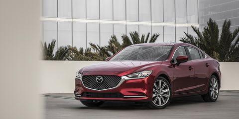 Land vehicle, Vehicle, Car, Mazda, Automotive design, Mid-size car, Mazda6, Personal luxury car, Sedan, Grille,