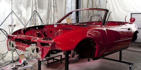 Mazda MX-5 Miata Restoration