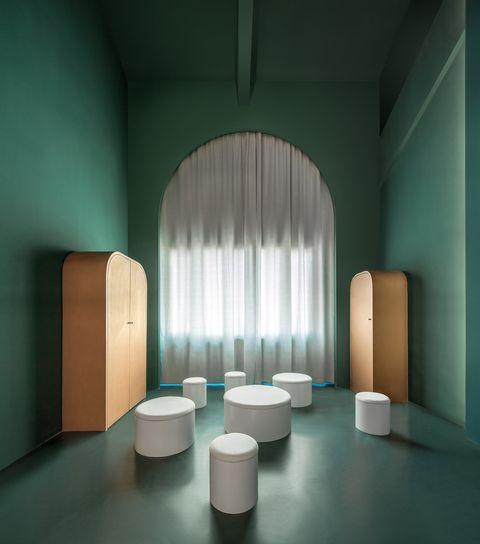 Studio10 maakte dit hotel tot een ware kleurexplosie.