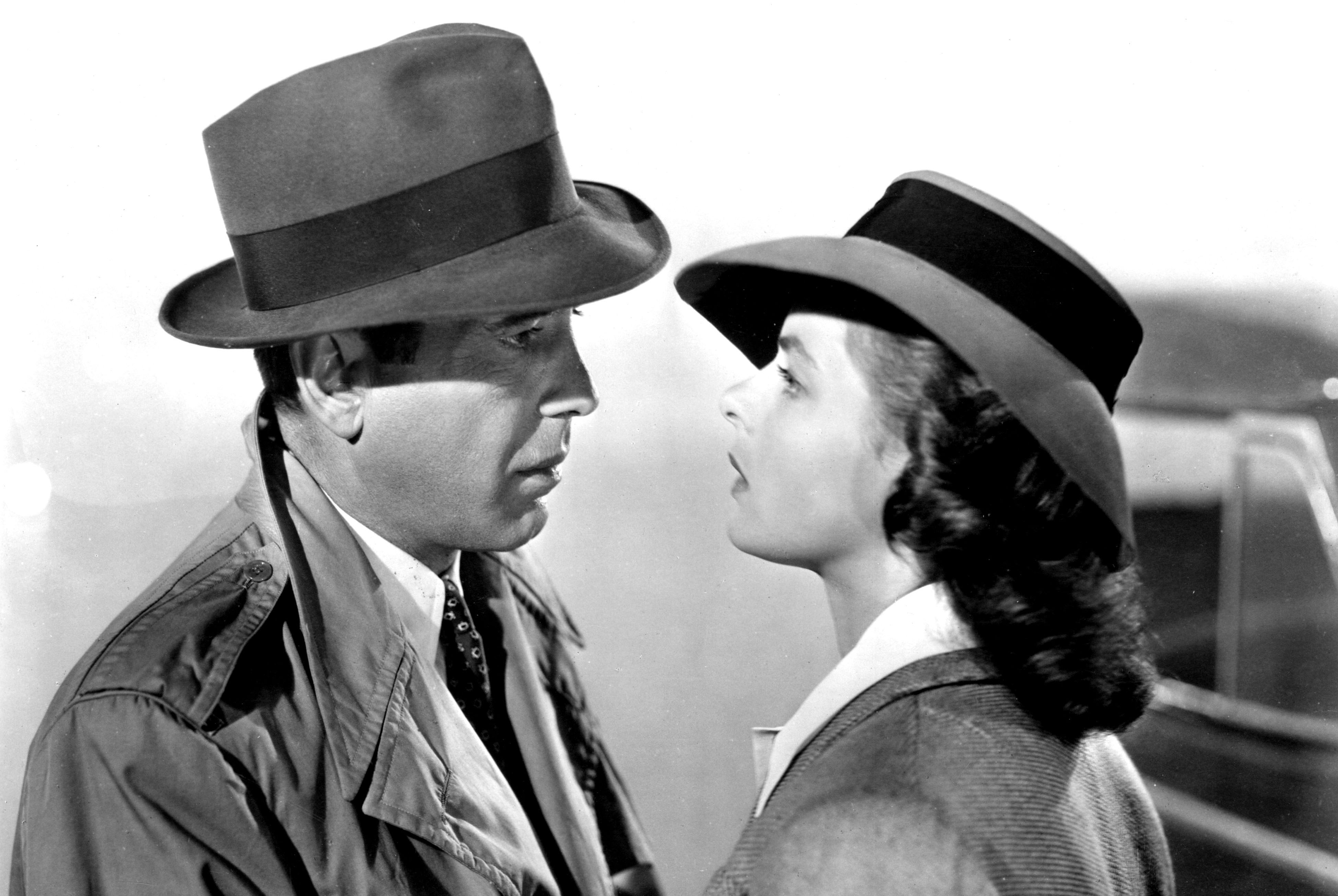 Watch Now Casablanca is up there with the Godfather for most quoted screenplay of all time. This WWII classic, directed by Michael Curtiz, pairs Scandinavian beauty Ingrid Bergman with tough guy Humphrey Bogart for a story of lovers ripped apart by war and reunited in a far flung Moroccan piano bar—of all the gin joints in the world.