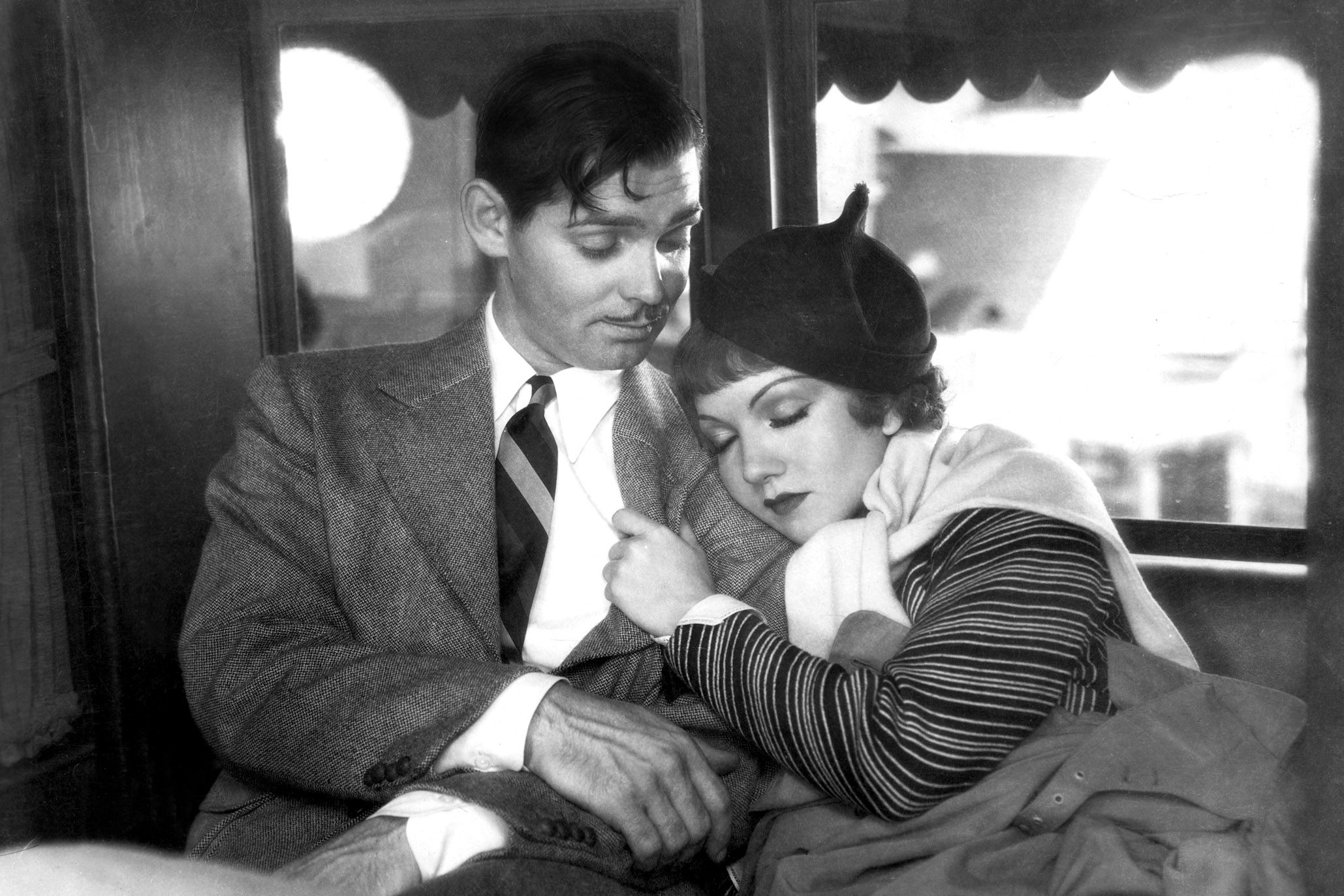 """Watch Now This fast-talking rom-com directed by Frank Capra invented the genre known as the """"screwball comedy"""" way back when movies with sound were still called """"talkies."""" In one of the first road movies ever, Clark Gable and Claudette Colbert embodied a sexy, mature, smart relationship that was surprisingly forward-thinking for its time."""