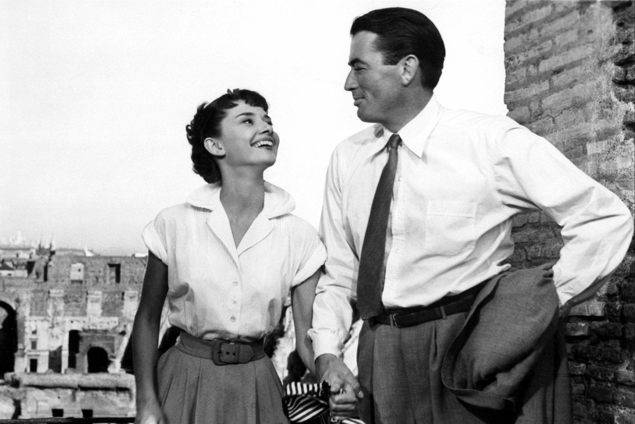 Watch Now Gregory Peck and Audrey Hepburn exploring Rome?