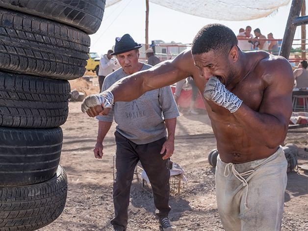 Hit Michael B. Jordan's 'Creed II' and 'Black Panther' Upper-Body Workout