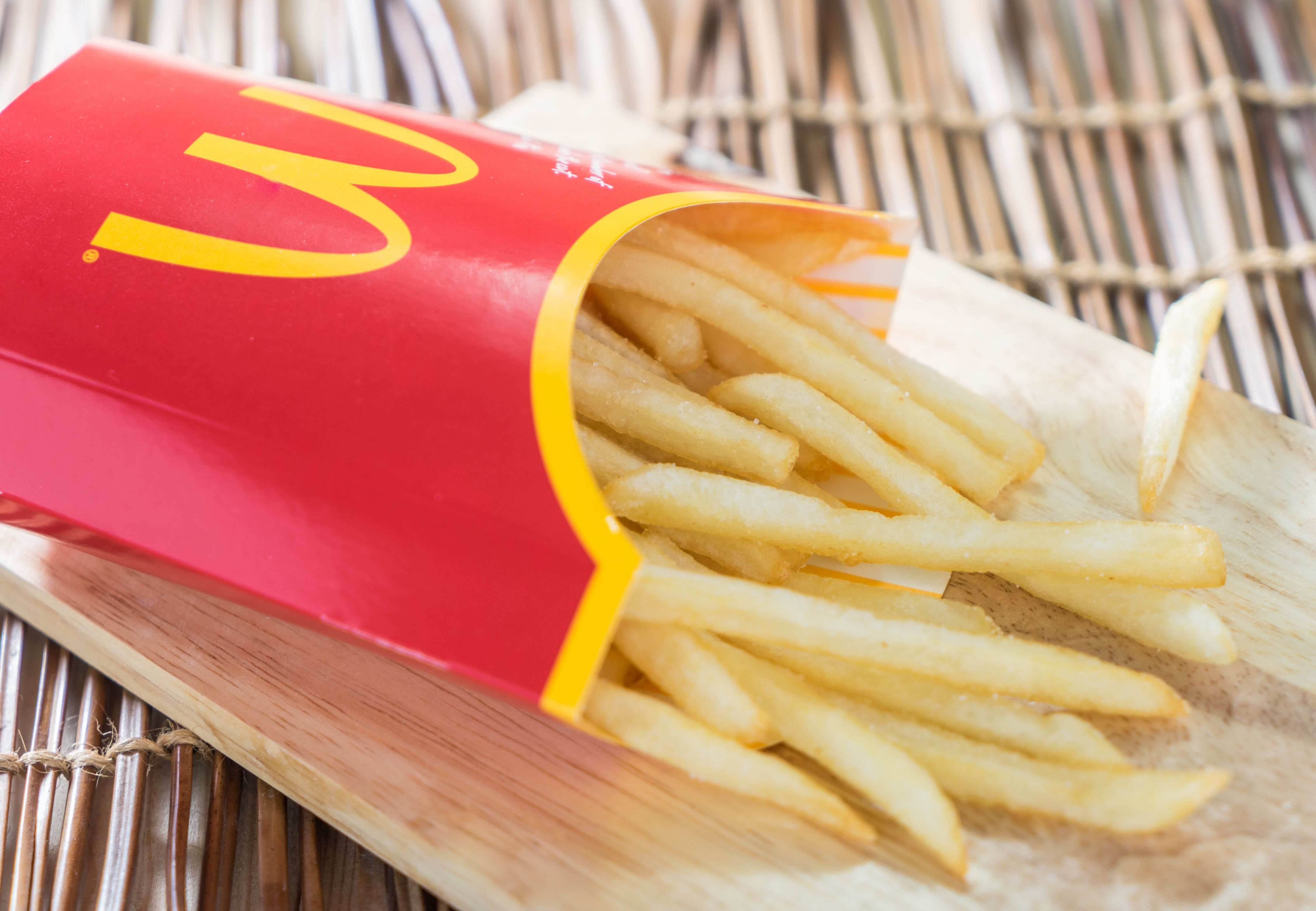 Mac Donald Free Fries For 2018