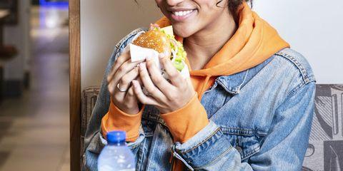 Junk food, Food, Eating, Food craving, Dish, Meal, Fast food, Cuisine, American food, Breakfast,