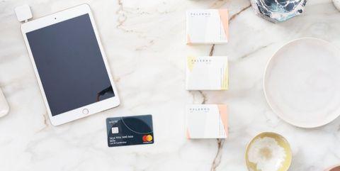 Mastercard en tablet