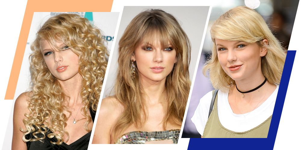 Taylor Swifts Hair Since 2006 Taylor Swift Hairstyle Ideas