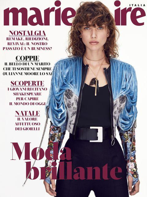 Magazine, Publication, Denim, Fashion, Album cover, Book cover, Outerwear, Jeans, Jacket, Font,