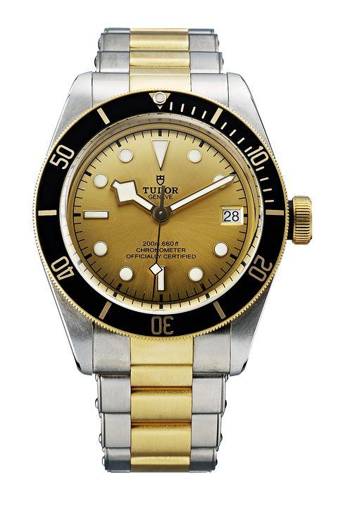 Watch, Analog watch, Watch accessory, Fashion accessory, Strap, Product, Jewellery, Yellow, Gold, Brand,