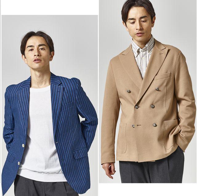 Clothing, Suit, Outerwear, Blazer, Jacket, Formal wear, Top, White-collar worker, Collar, Sleeve,