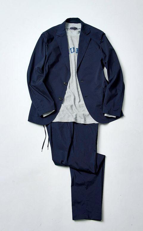 Clothing, Blue, Outerwear, Suit, Sleeve, Jacket, Blazer, Electric blue, Uniform, Formal wear,