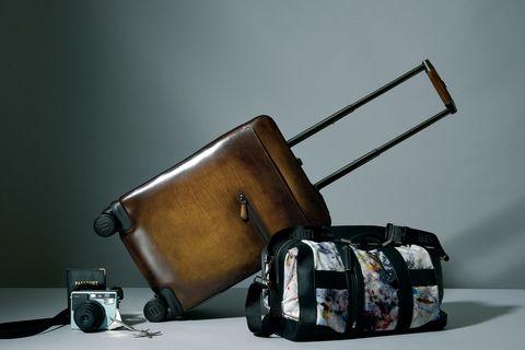 旅行 鞄 バッグ レザー ベルルッティ
