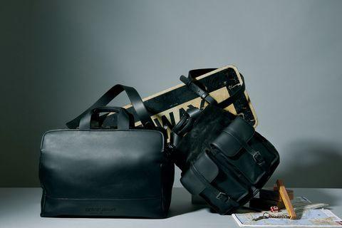 旅行 鞄 バッグ レザー ジョルジオ アルマーニ