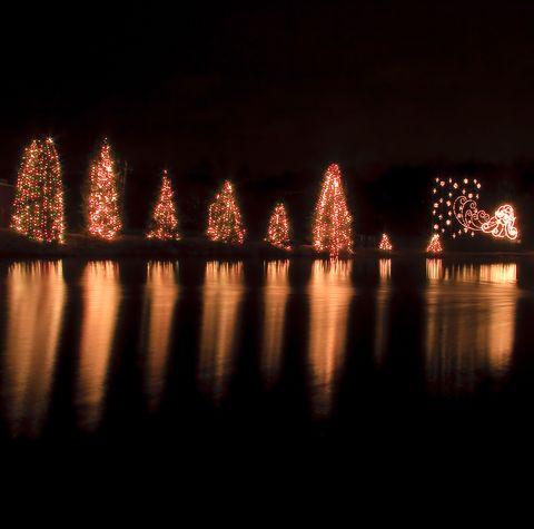 árvores de natal de mcadenville