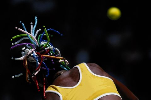 venus williams, capelli