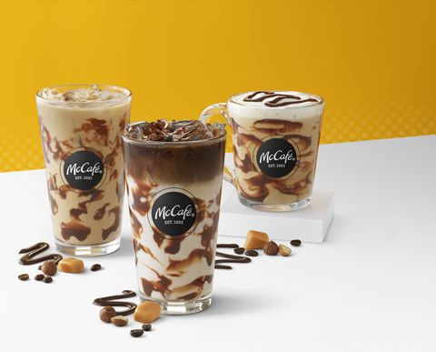 Food, Iced coffee, Mocaccino, Frappé coffee, Irish cream, Drink, Latte macchiato, Coffee, Milkshake, Cuisine,