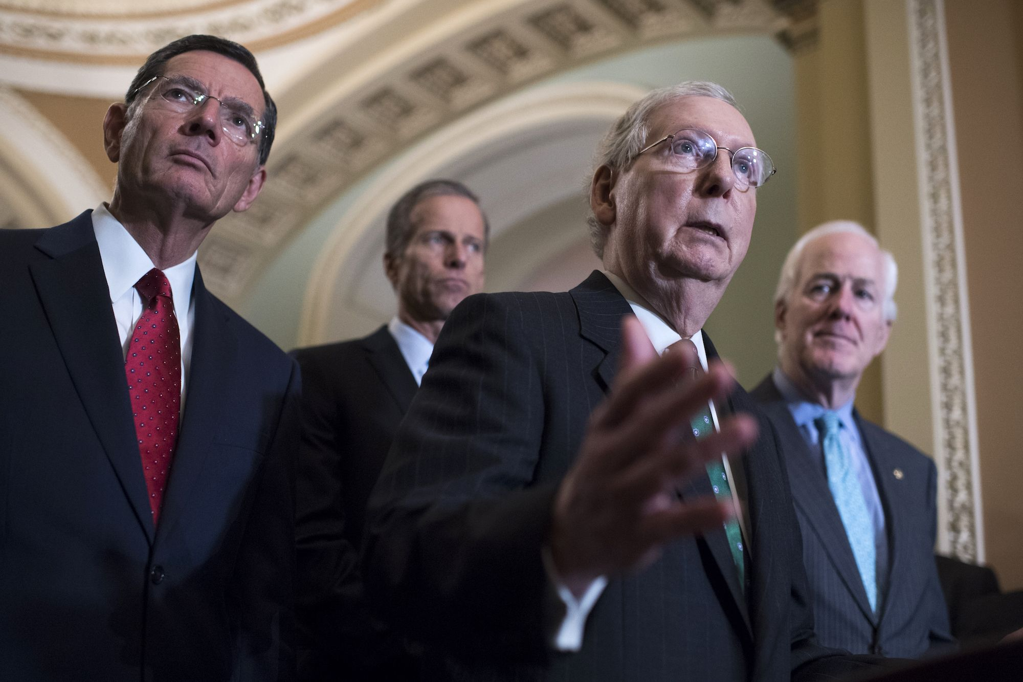 More Evidence That Movement To Defend >> Mitch Mcconnell Says Trump Obstruction Of Justice Is Case Closed