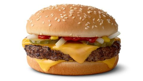 McDonald's Quarter Pounder hamburger
