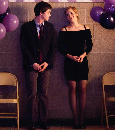 THE PERKS OF BEING A WALLFLOWER, from left: Logan Lerman, Emma Watson, 2012. ph: John Bramley/©Summi
