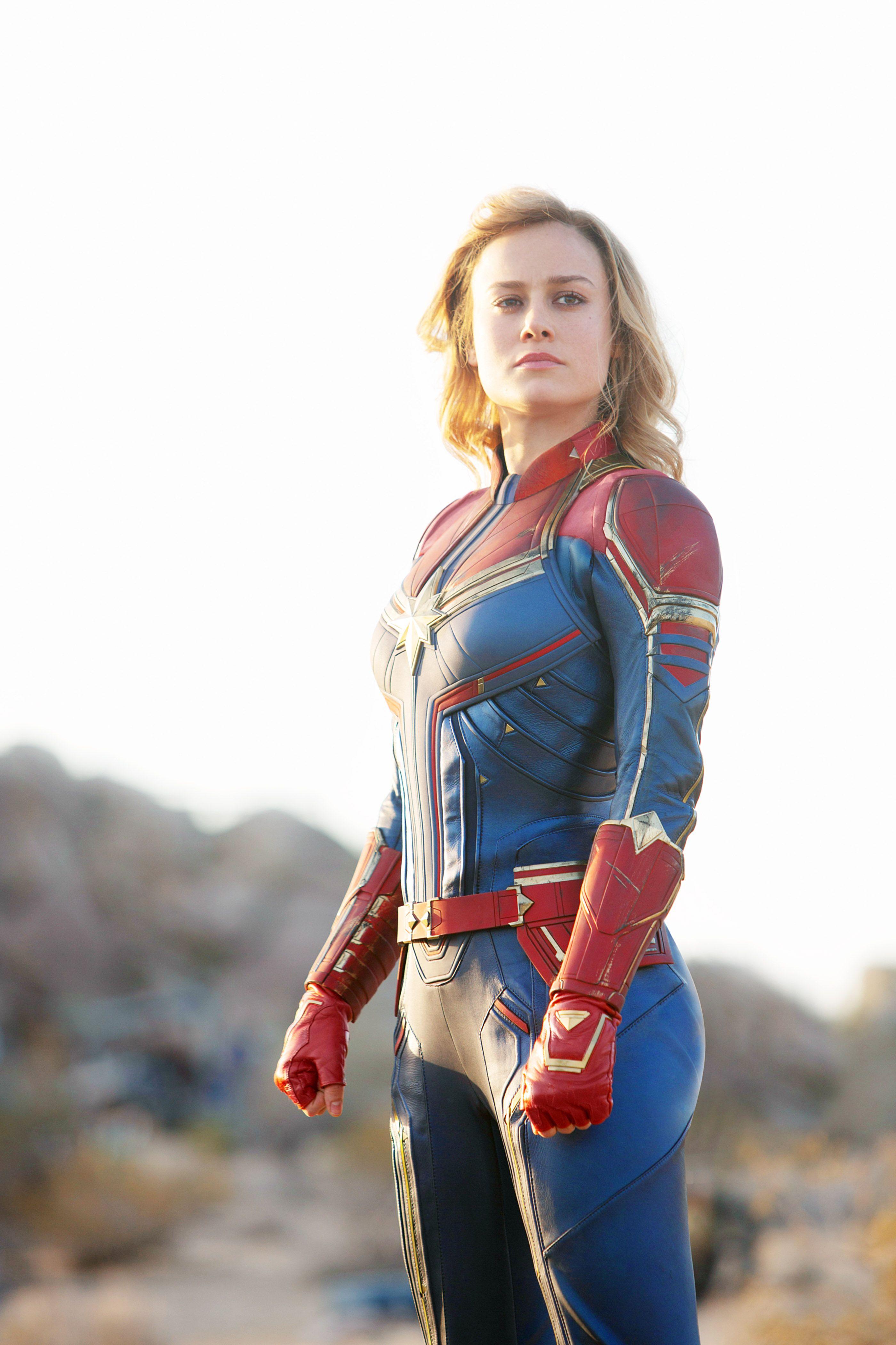 Captain Marvel is the first female superhero film to gross $1 billion worldwide