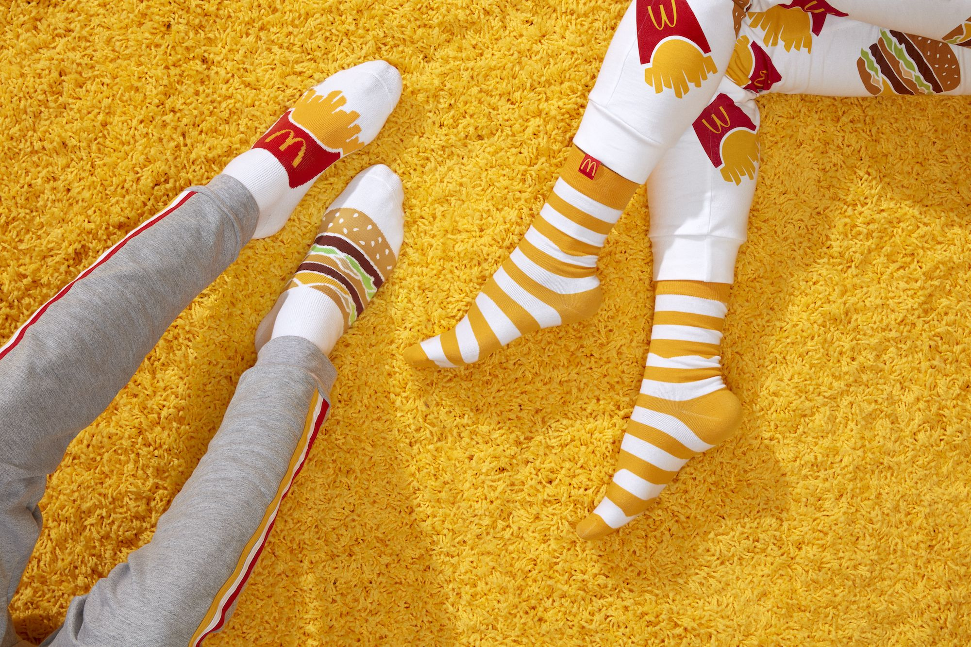McDonald's Is Giving Away Free French Fry And Burger Socks With Orders This Week