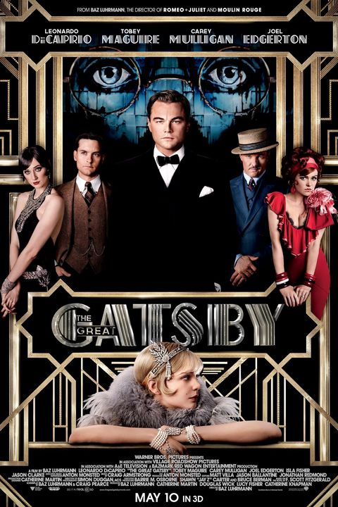 THE GREAT GATSBY, US poster art, top from left: Elizabeth Debicki, Tobey Maguire, Leonardo DiCaprio