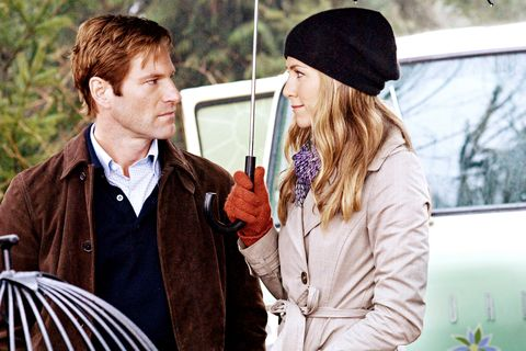 LOVE HAPPENS, from left: Aaron Eckhart, Jennifer Aniston, 2009. Ph: Kimberly French/©Focus Features/