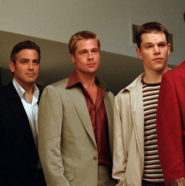ocean's eleven, george clooney, brad pitt, matt damon, elliott gould, don cheadle, 2001