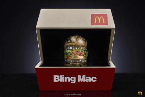 Bling Mac, McDonald's