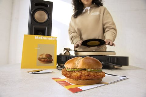 mcdonald's crispy chicken sandwich