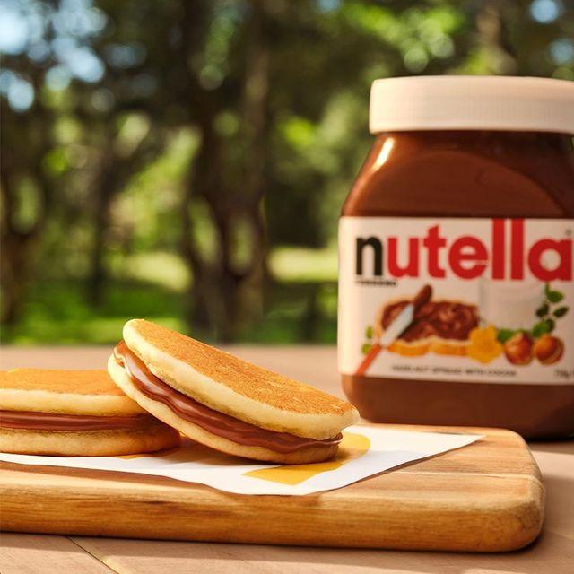 mcdonald's australia mini hotcakes with nutella