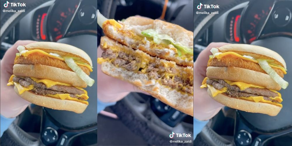 Have You Ever Tried Combining McDonald's Double Cheeseburgers With A Mayo Chicken?