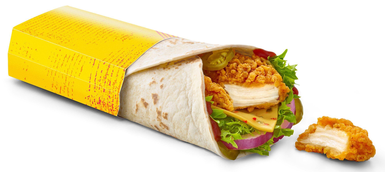 Mcdonald S New Chicken Fajita Wrap And Bacon Chicken Mayo Burger Are Here