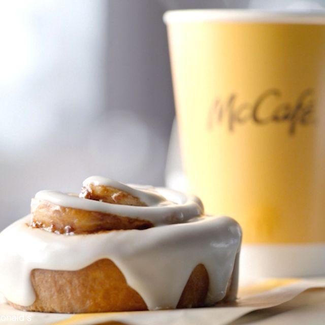mcdonald's cinnamon roll