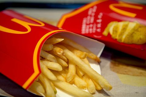 patatas fritas mcdonals calvicie