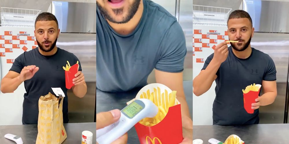 Ordering McDonald's Fries Without Salt Is The Way To Get Super-Fresh Fries