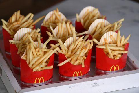 just eat mcdonalds