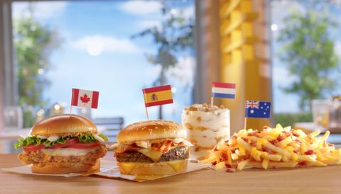 McDonald's International Menu