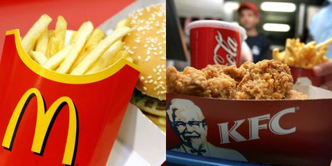 kfc and mcdonald s may soon be forced to calorie cap their foods