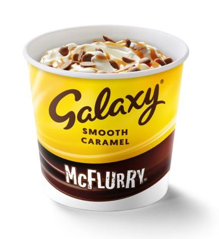 mcdonald's menu now includes the chicken deluxe and a galaxy chocolate mcflurry